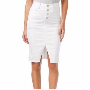 Guess White Skirt, Size 27